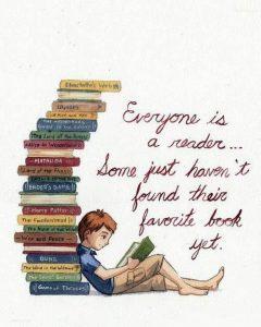 Een  leeslijst is niet meer en minder dan jouw favoriete boeken opschrijven die je graag zou willen lezen.